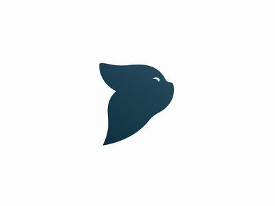 Minimalist Cat Logo Design