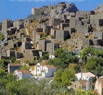 Anavatos Village - Chios Island - Greece