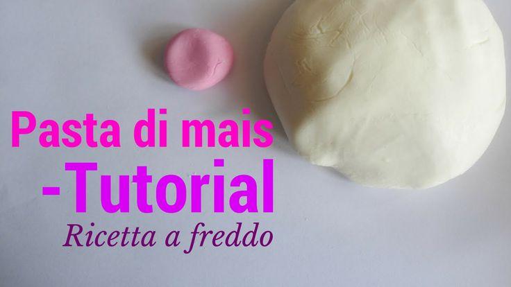 Pasta di mais tutorial