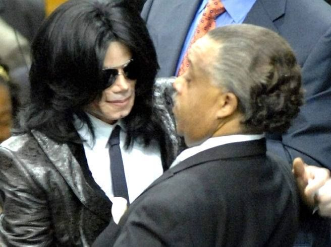 at James Brown's funeral...