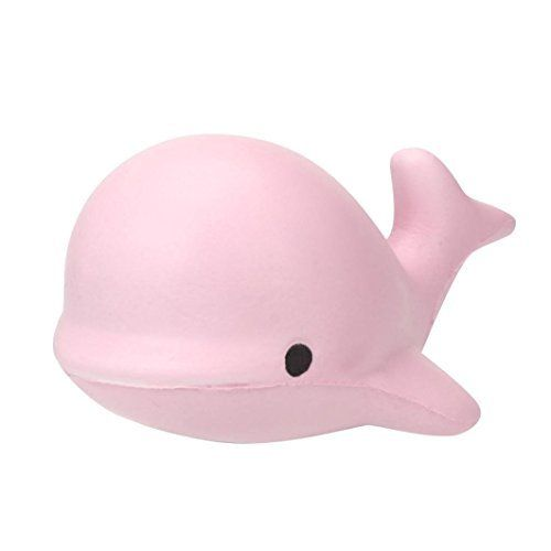 Littleice Cute10CM Soft Whale Cartoon Squishy Jumbo Slow Rising Scented Squeeze Squishies Charm Stress Reliever Simulation Kid Toy (Pink). #Littleice #CuteCM #Soft #Whale #Cartoon #Squishy #Jumbo #Slow #Rising #Scented #Squeeze #Squishies #Charm #Stress #Reliever #Simulation #(Pink)