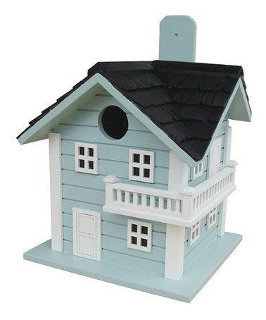 Love this Blue Surf City Beach Birdhouse Birdhouse on #zulily! #zulilyfinds