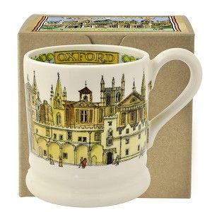 ½ pt Mug Oxford - Nieuw! - Pine-apple - Importeur Emma Bridgewater