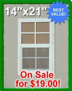 Small Shed Window Deer Stand Blind Chicken Coop Windows