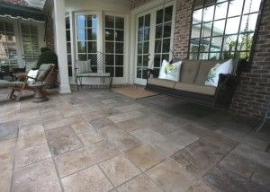 Decorative Concrete Resurfacing offers stamped concrete overlays,stamping & other cement applications giving plain slab a brand new look.Call (636) 256-6733