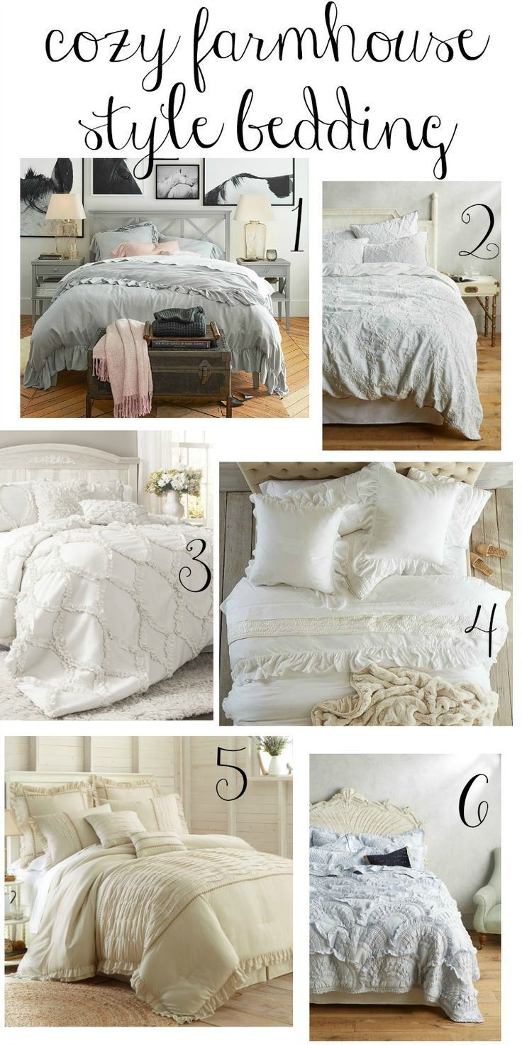 These cozy farmhouse style bedding options are perfect choices for creating a welcoming and peaceful master bedroom retreat.