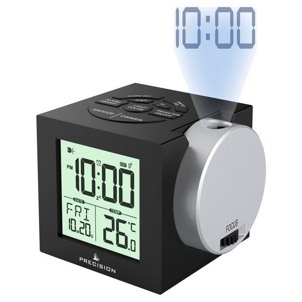 Buy Precision Radio Controlled Projection Digital Alarm Clock