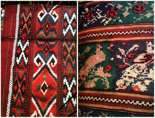 Traditional Romanian embroidery stitches and styles.