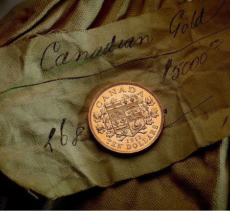 History of the first canadian gold coins