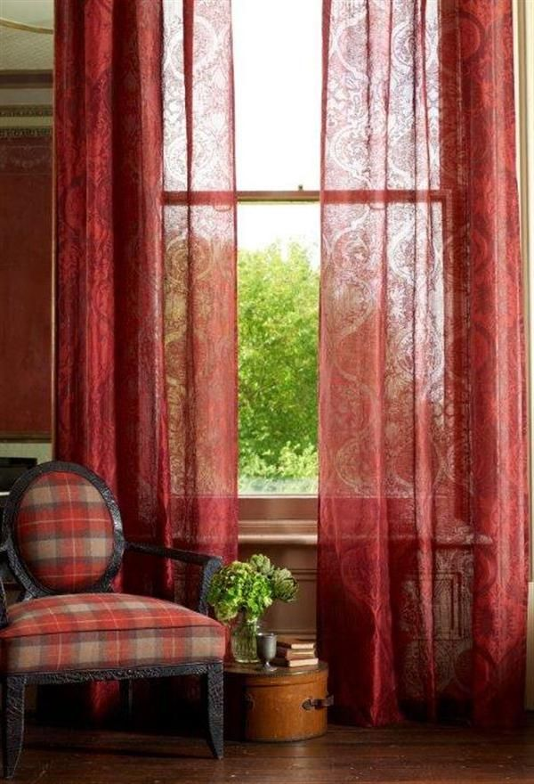 A sheer curtain is definitely on my wish list for next year from the fab @Linwood_Fabric #DailyInteriorsInspiration