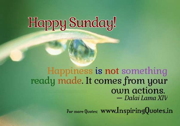 Images of Good Sunday Morning with quotes | Sunday Good Morning Quotes on Happiness | Inspiring Quotes ...
