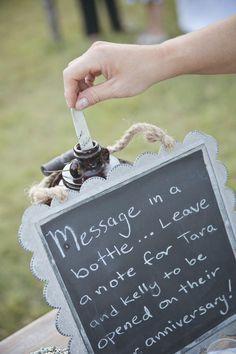 Wedding Ideas: Note-Worthy Engagement Party Inspiration - Amanda Lloyd Photography