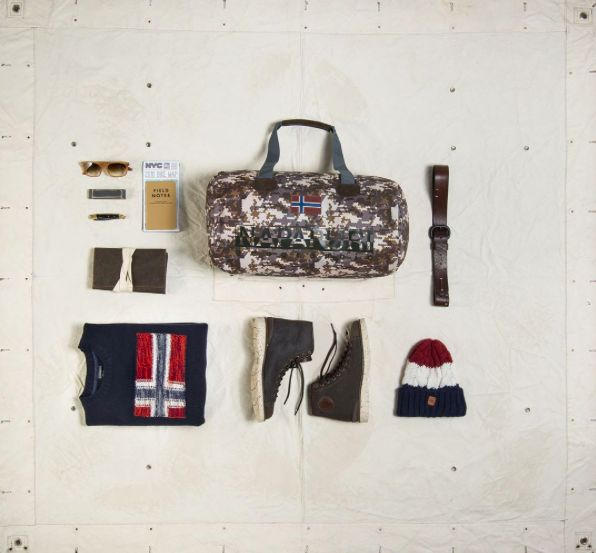 Our list of special suggestions would not be complete without our Online Exclusive Bering Small. Half the size of its classic counterpart, this compact duffle bag in a unique camo print is perfect for short urban outings or a trip to the gym.
