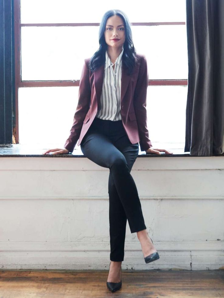 Womens-business-casual-blazer                                                                                                                                                     More
