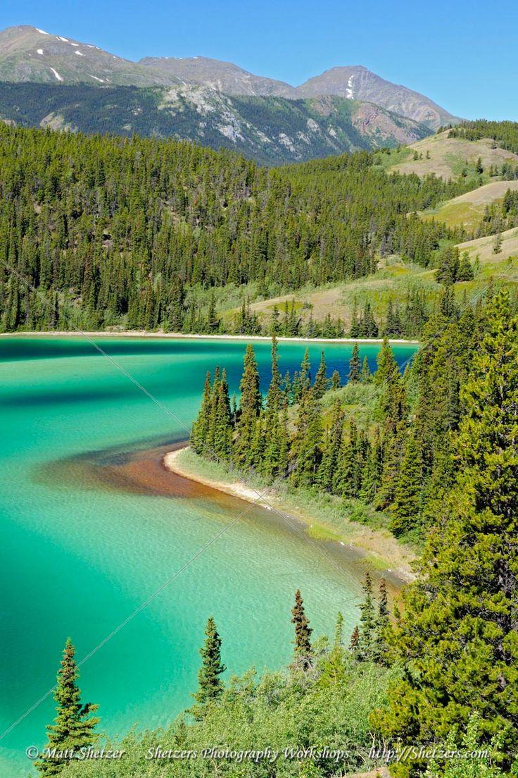 Emerald Lake ~ Yukon Territory, Canada