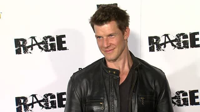 Eric Mabius at the 'Rage' Video Game Launch Party at Los Angeles CA.