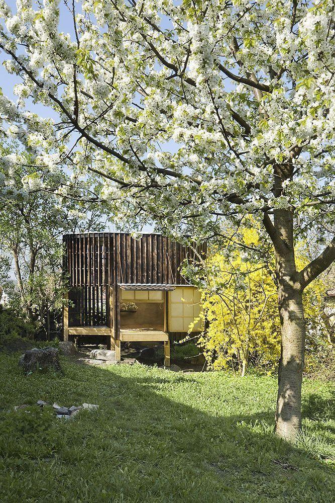 チェコのA1 architectsのデザインした茶室2