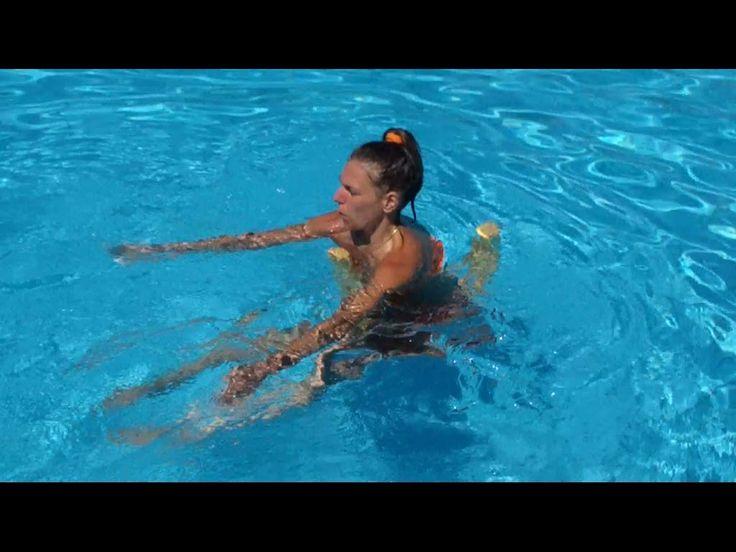 Come rassodare la pancia in piscina - YouTube