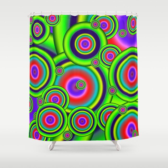 Buy Psychedelic Spirals Shower Curtain By Mysticdragon Worldwide Shipping Available At Society6 Com Just One Of Millions Of Hi Curtains Shower Curtain Shower