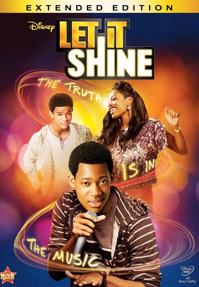 Let It Shine - Movie Review Do you like rap? So let's see this movie about a boy who loves singing rap romantic songs and he can't do it bescause of his father is not agree and forbid him do it