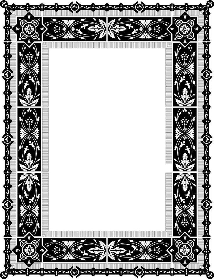 Download File Desain Frame Border Berformat Vector Free
