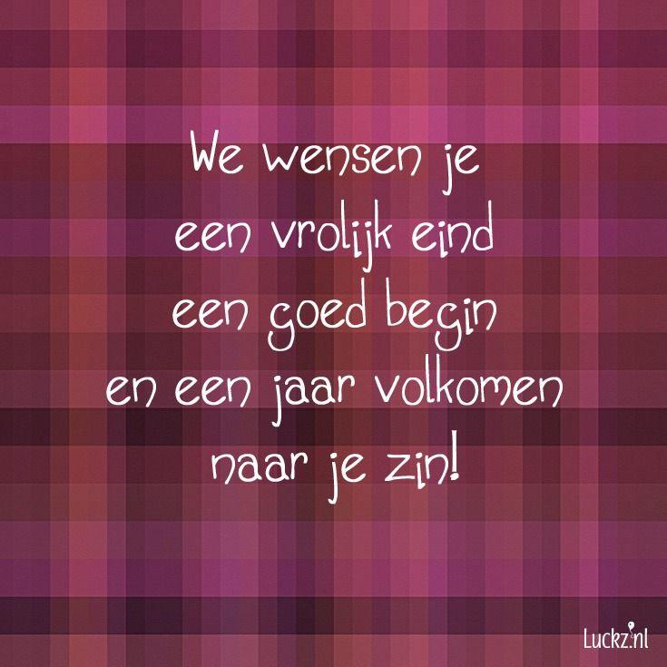 We wensen je, leuke kerst tekst voor op een kerstkaart.  Luckz.nl ★ voor meer kerstwensen en unieke kerstkaarten designs.