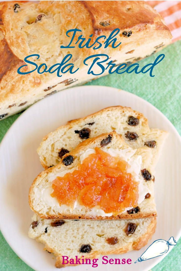 irish soda bread recipe without buttermilk