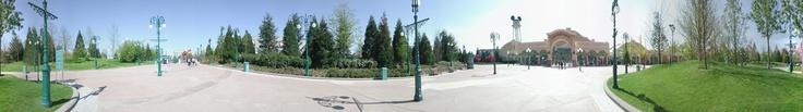 Entrée du Parc Walt Disney Studios - 2004