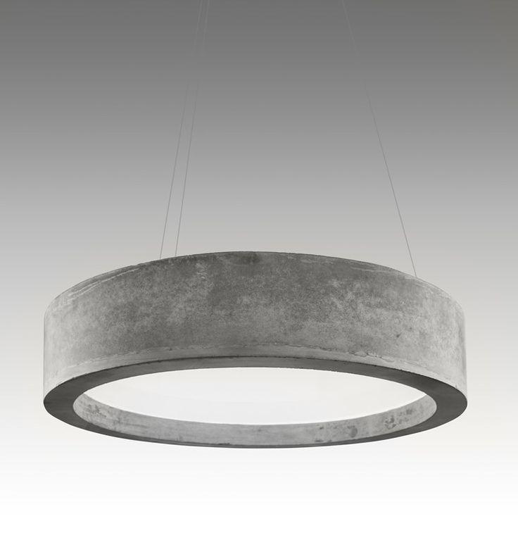 Cement Pendant Lamp Zero51 Lucifero S