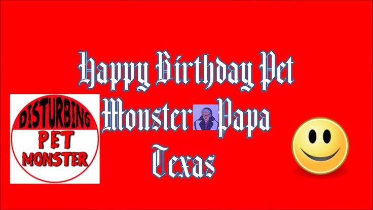 Happy Birthday Pet Monster & Papa Texas! Welcome to Granny Monster Channel on You Tube DISTURBING PET MONSTER https://www.youtube.com/channel/UC2FeL7OZN79SZQyP1RwpJ1w Pet Monster https://www.youtube.com/channel/UCOZGqwNT2v2YRgCv-ameRwg PaPa Texas https://www.youtube.com/channel/UC9m9sAyTcwppnSUDAz9YFKw Ways to Celebrate today! Breakfast in Bed. This is one from my parents and one of my favorite memories from childhood. On the morning of our birthdays the whole family would traipse into our…