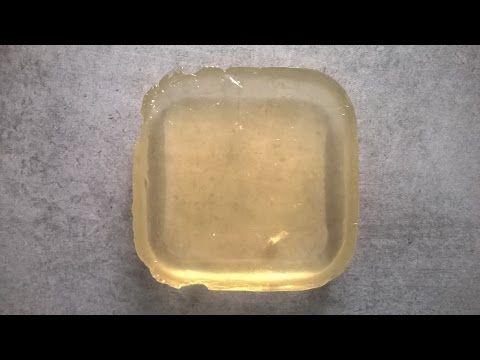 Réaliser un gel neutre pour vos décors - Apprendre la pâtisserie - YouTube