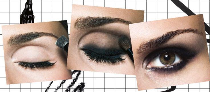 Smokey Eyes: Kaum ein Augen-Make-up wirkt dramatischer!