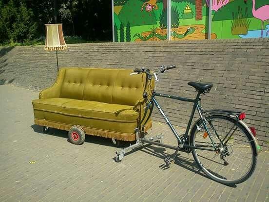 Zetel + fiets = zetelfiets