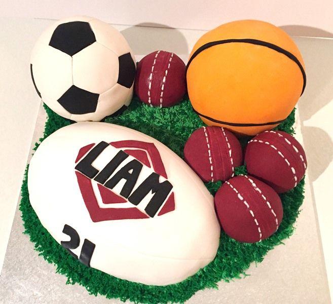Sports Ball Cake Ball Cake Sport Fanatics Cake