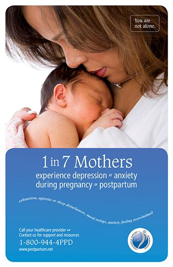 Know the Symptoms of Postpartum Anxiety and Depression - The Happiest Doulas #doula #atlanta