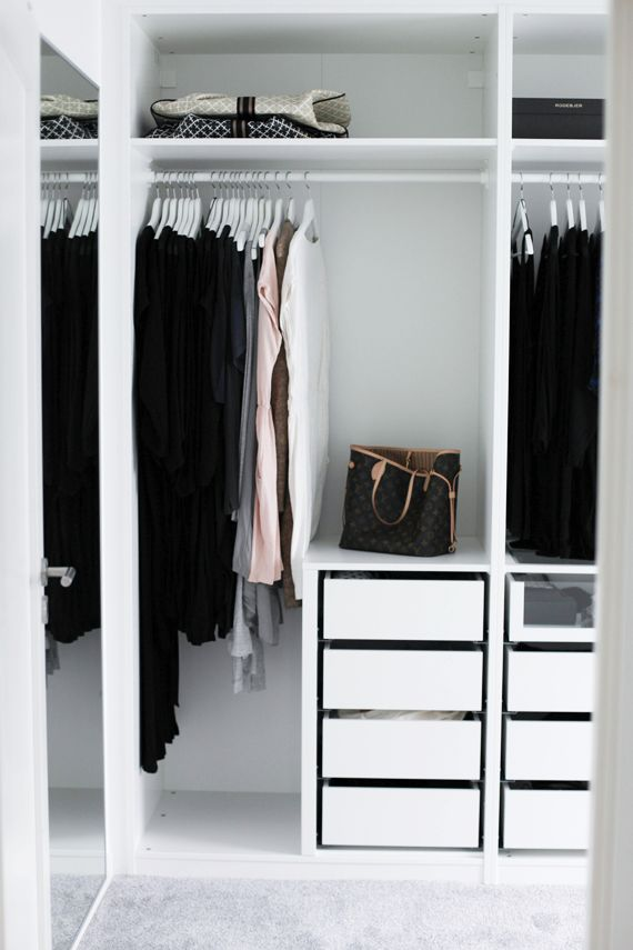 1000 ideas about ikea pax wardrobe on pinterest ikea for Walk in fireplace designs