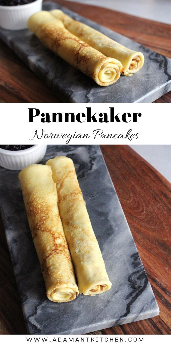 Norwegian Pancakes Pannekaker Recipe In 2020 Norwegian Cuisine Viking Food Norwegian Pancakes