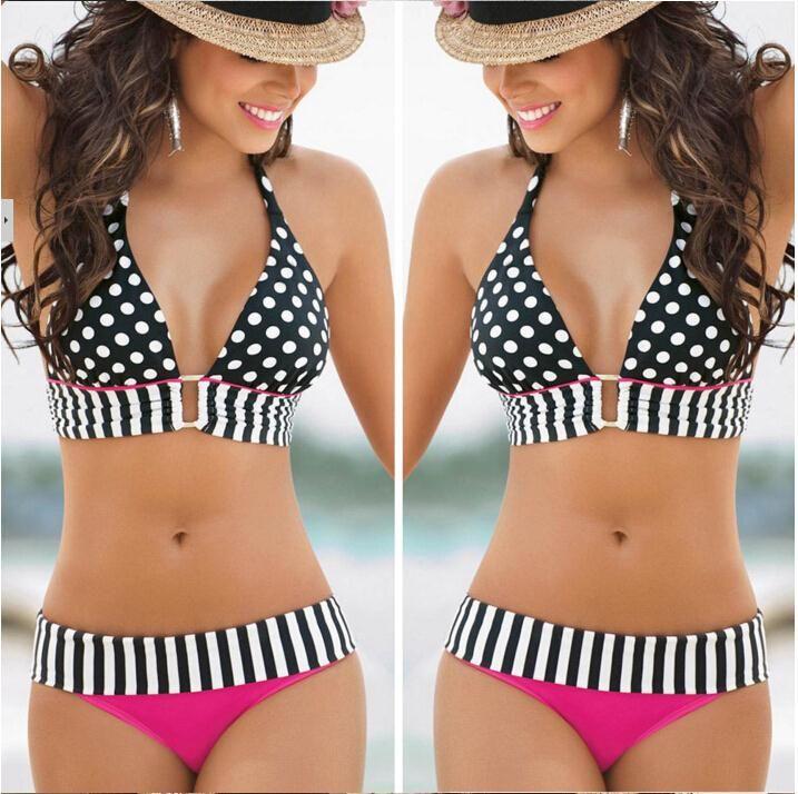 $4.59 (Buy here: https://alitems.com/g/1e8d114494ebda23ff8b16525dc3e8/?i=5&ulp=https%3A%2F%2Fwww.aliexpress.com%2Fitem%2FRetro-Bikini-Brazilian-Women-Swimwear-High-Waist-Wave-Stripe-Bikinis-Set-Swim-Suit-Polka-Dot-Swimsuit%2F32789674730.html ) Retro Bikini Brazilian Women Swimwear High Waist Wave Stripe Bikinis Set Swim Suit Polka Dot Swimsuit Plus Size for just $4.59