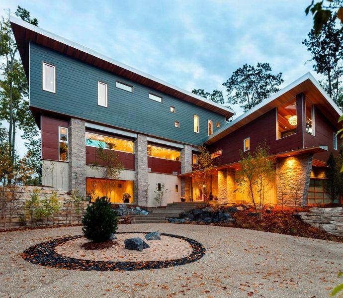 Особняк с видом на озеро Мичиган - Дизайн интерьеров | Идеи вашего дома | Lodgers