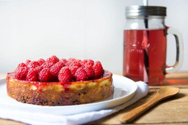 Cheesecake au chocolat, amandes et framboises // Sans gluten et sans lait de vache - 22 v'la Scarlett l Live good eat good