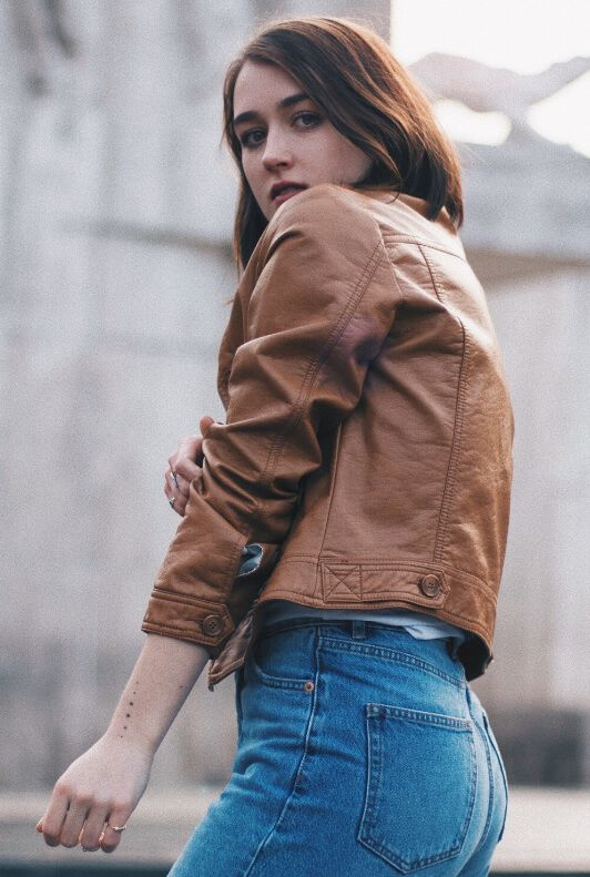 Die 16 besten Bilder von leatherlicious. | Lederjacke frauen