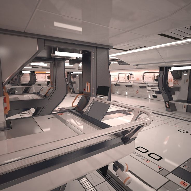 3D MODEL: https://www.turbosquid.com/3d-models/3d-sci-fi-hangar-interior-scene-model/1002069?referral=cermaka