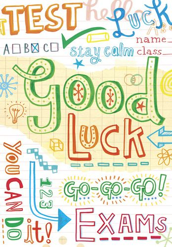 Best 25+ Good luck exam ideas on Pinterest Good luck for exams - exam best wishes cards