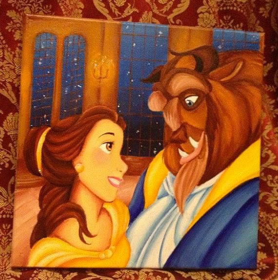 Custom Disney Canvas 12x12 By Jaysart On Etsy