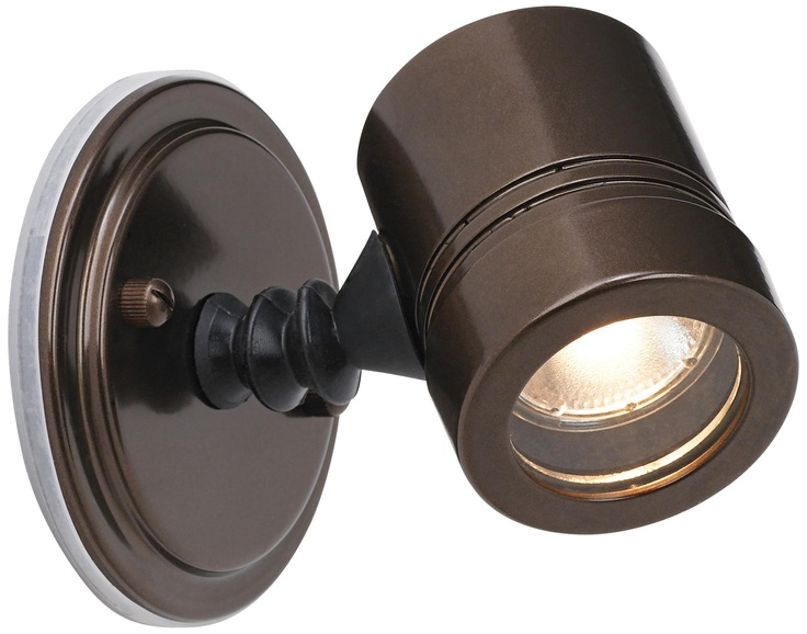 Myra Collection Bronze Outdoor Halogen Spotlight -