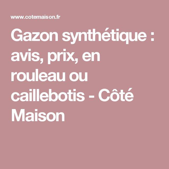 Gazon synthétique : avis, prix, en rouleau ou caillebotis - Côté Maison