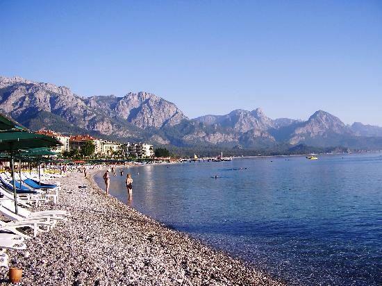 kemer, Turkey. Antalya is the Mediterranean Sea.