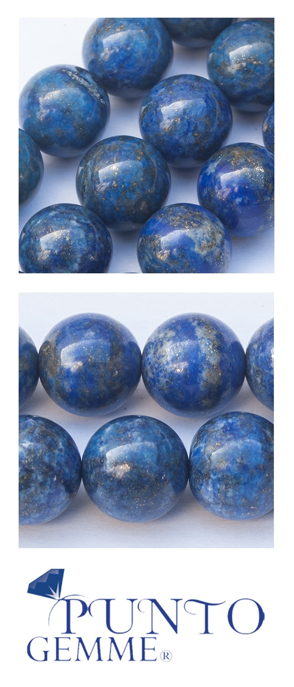 Round of lapis 14mm #lapis #gemstone #gemmopoli