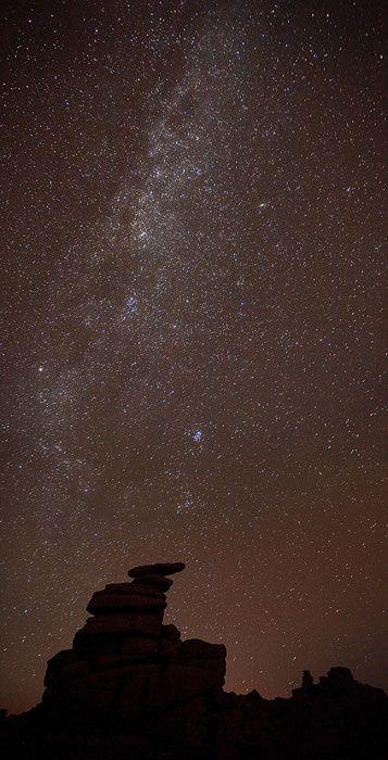 Dartmoor Galaxy, Dartmoor in Devon, England