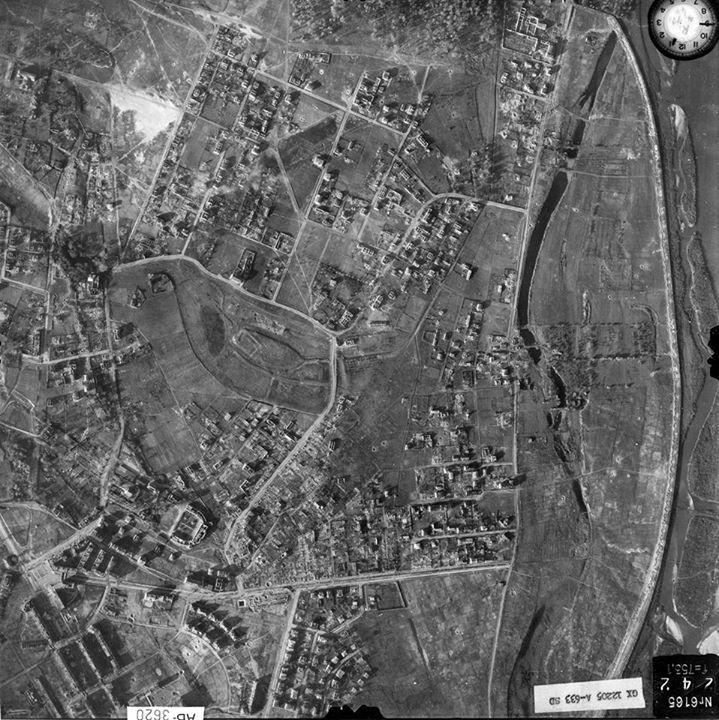 Żoliborz, 7-XI-1944 rok. zbiory The National Archives at College Park, Maryland dzięki uprzejmości Zygmunta Walkowskiego. https://www.facebook.com/udzoliborz/photos/a.10150191941965291.433134.338666360290/10155697039680291/?type=1